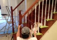 peinture de cage d'escalier St-Lazare