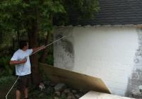 Peinture mur de béton, Pointe-Claire