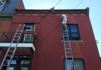 exterior painting bricks