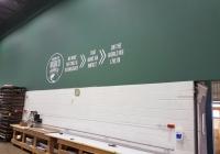 Peinture intérieure entrepôt