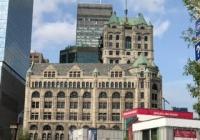 Peinture édifice Montréal