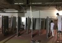 Peinture portes métal