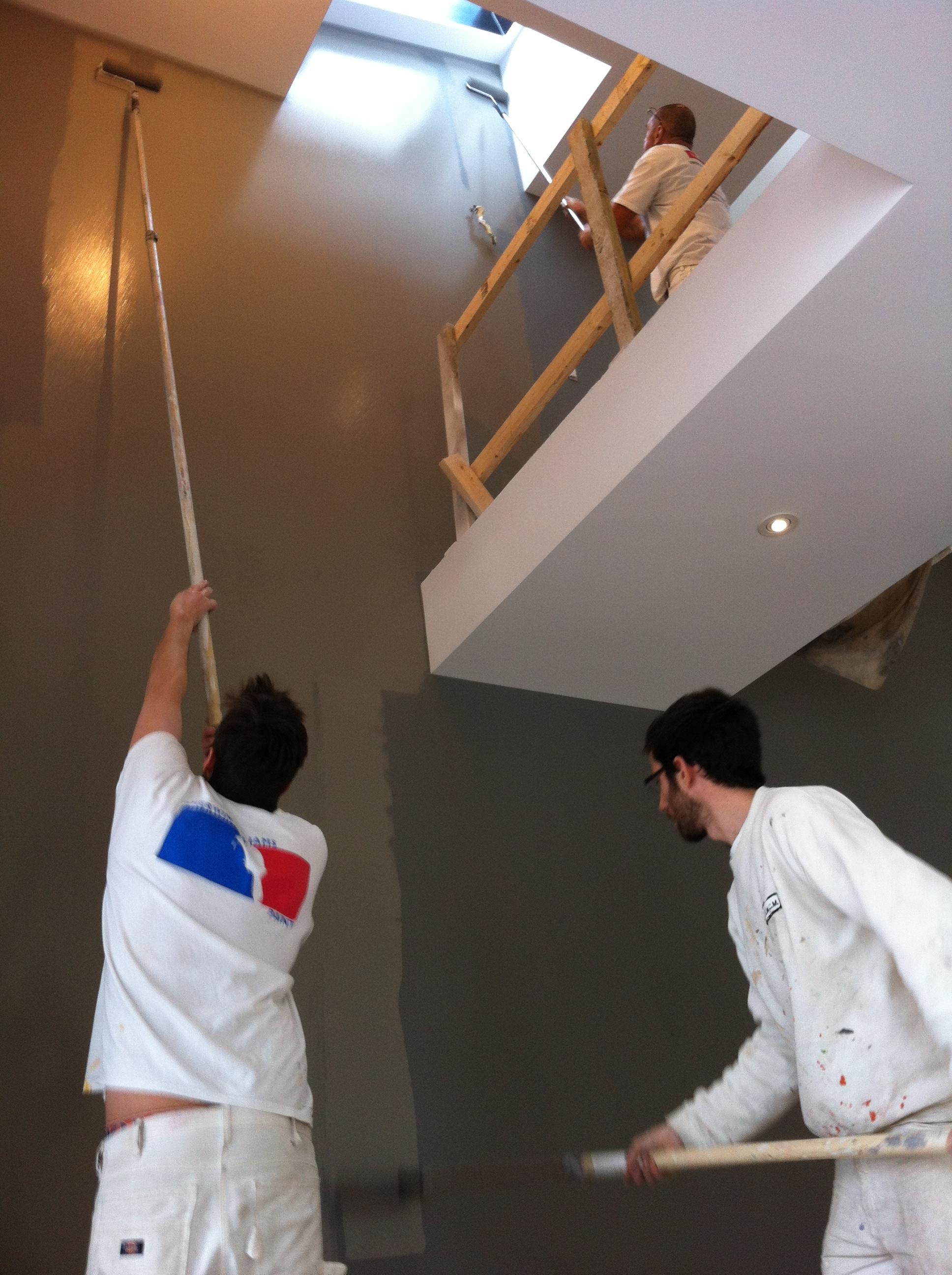 Galerie de photos peinture maison interieur