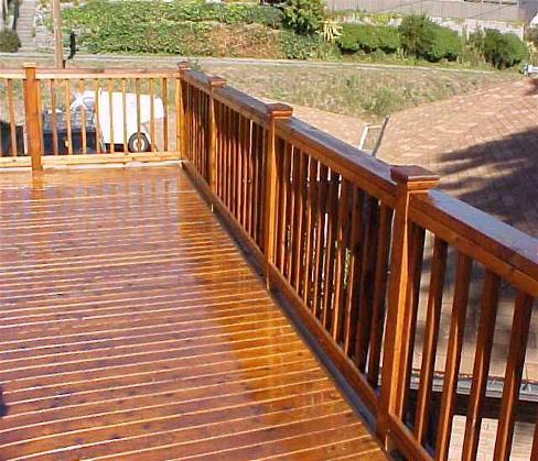 Comment choisir la bonne teinture pour son balcon for Plancher pour balcon exterieur